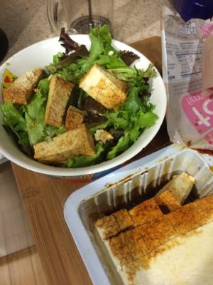 Marinated Tofu Salad